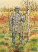 Железный человек. Рисунок Валерия Славука