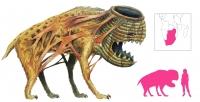 """Туалангценгце. Иллюстрация с сайта """"A Book of Creatures"""""""