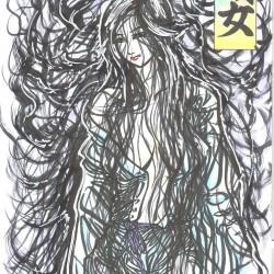 Исо-онна. Рисунок Сёты Котакэ (Shota Kotake)