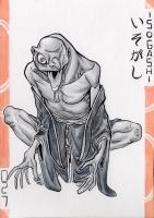 Исогаси. Иллюстрация Лукаса Перейры