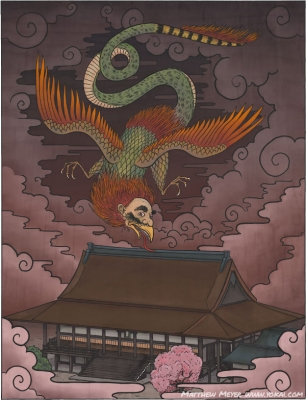 Ицумадэ. Иллюстрация Мэтью Мэйера