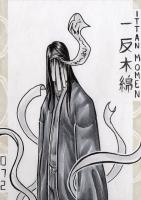 Иттан-момэн. Иллюстрация Лукаса Перейры