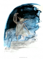 Доби. Рисунок Яны Хейдерсдорф