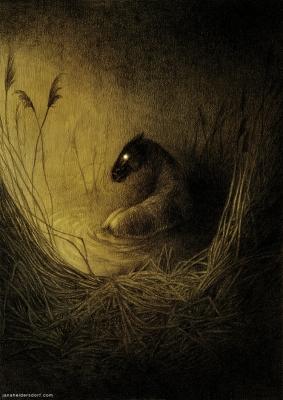 Келпи. Иллюстрация Яны Хейдерсдорф