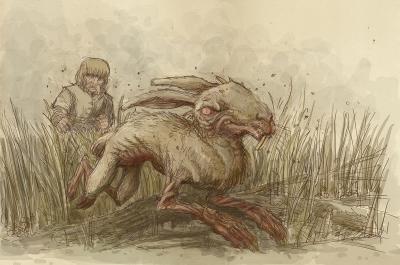 Jaroszek (Ярошек). Иллюстрация Павла Зыха (Paweł Zych)