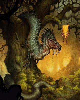 Колхидский дракон. Иллюстрация Юхана Эгеркранса