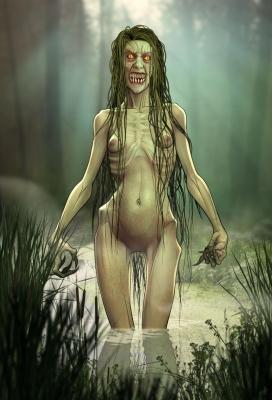 Дженни Зеленые Зубы. Иллюстрация Стива Эбдона
