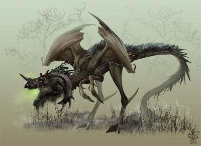 Джерсийский дьявол. Иллюстрация Винсента Ковьелло