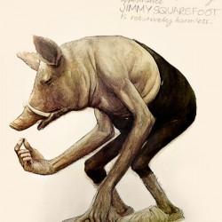 Джимми-квадратная-нога. Иллюстрация Брайана Фрауда