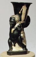"""Кабир-чаша (""""Kabirenbecher""""), посвященная культу Кабиров в Фивах"""