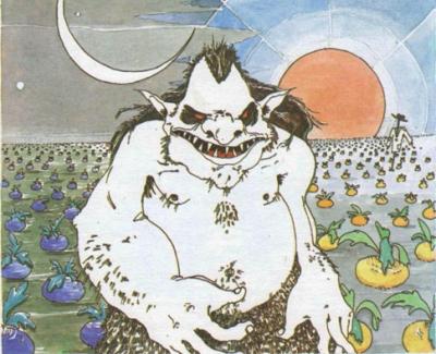 Кадук. Иллюстрация Алексея Новицкого