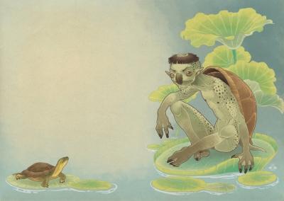 Каппа. Иллюстрация Марги Биацци