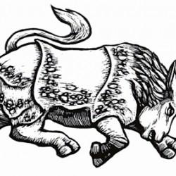 Каркаданн. Иллюстрация Мерли Инсинга