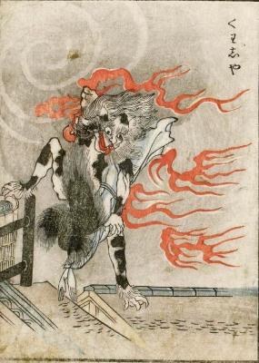 Каси. Цветная копия Набэты Гёкуэя с рисунка Ториямы Сэкиэна
