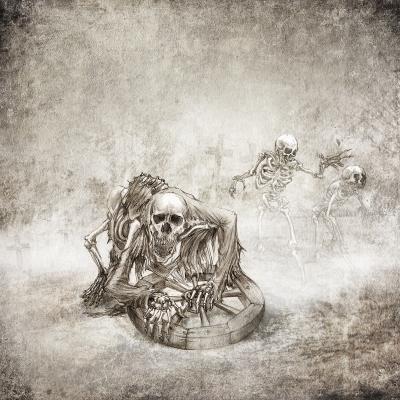 Костомахи. Рисунок Евгения Кота