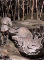 Келпи. Рисунок Светланы Игнатовой