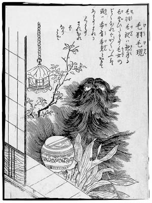 Кэукэгэн. Иллюстрация Ториямы Сэкиэна