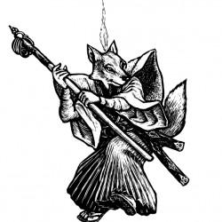 Дух-лис. Иллюстрация Мерли Инсинга