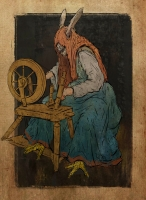 Кикимора. Рисунок Лукаша Станеца