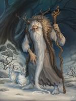 Дед Мороз. Иллюстрация Klaher Baklaher