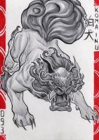 Комаину. Иллюстрация Лукаса Перейры