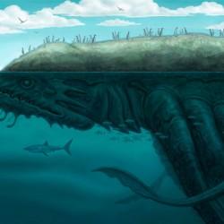 Кракен-цетус. Иллюстрация Аллена Дугласа