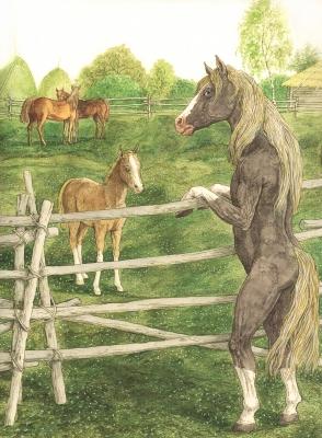 Кумельган. Рисунок Валерия Славука