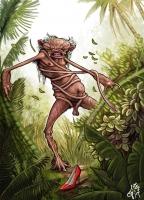 Курупи. Иллюстрация Греко Вестерманна