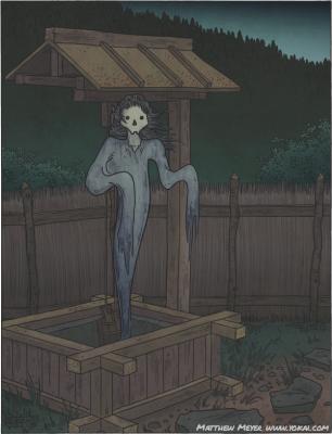 Кёкоцу. Рисунок Мэтью Мэйера