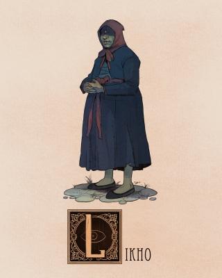 "Лихо. Иллюстрация Натана Андерсона (Nathan J. Anderson, ""Deimos-Remus"")"
