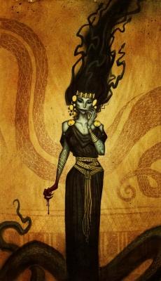 Ламия. Иллюстрация Юхана Эгеркранса
