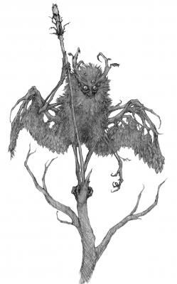 Леший. Рисунок Алексея Монжалея