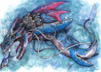 Левиафан. Иллюстрация Кейтара Вольфура