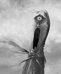 Лихо Одноглазое. Иллюстрация Антона Квасоварова (фрагмент)
