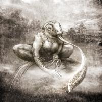 Лизун. Рисунок Евгения Кота