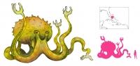 "Луска. Иллюстрация с сайта ""A Book of Creatures"""