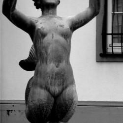 Сирена-мелюзина. Статуя в Майнце