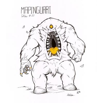 Мапингуари. Рисунок HETthePumpking