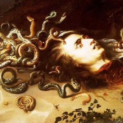Голова Медузы. Картина П.П.Рубенса