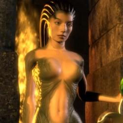 Медуза Горгона из деморолика Nvidia