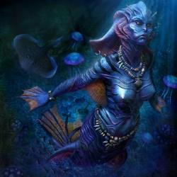 Русалка-mermaid работы Маркуса Даблина (Marcus Dublin)
