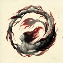 Русалка. Иллюстрация Евы Вайдерманн