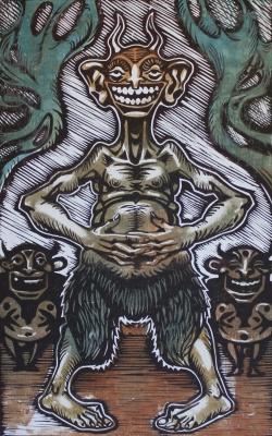 Хихитун. Иллюстрация Кирилла Сидорова
