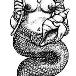 Нага. Иллюстрация Мерли Инсинга
