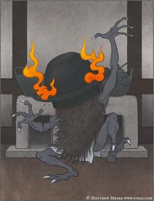 Наригама. Иллюстрация Мэтью Мэйера