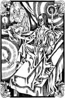Навьи. Иллюстрация Надежды Антиповой