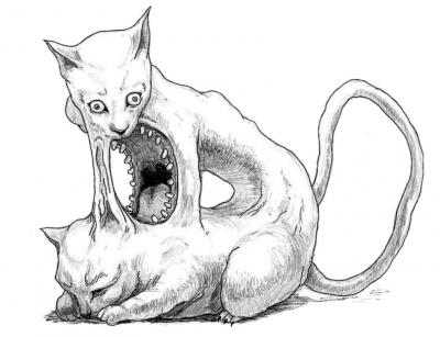 "Нэкомата. Иллюстрация Джей-Ди ""ehime"" Дэниэла"