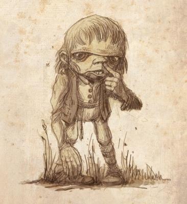 Подменыш-Одмина. Иллюстрация Павла Зыха (Paweł Zych)