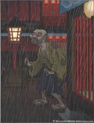 О-дзато. Иллюстрация Мэтью Мэйера