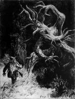 Метсахалдьяд. Иллюстрация Отто Кангиласки (1963)